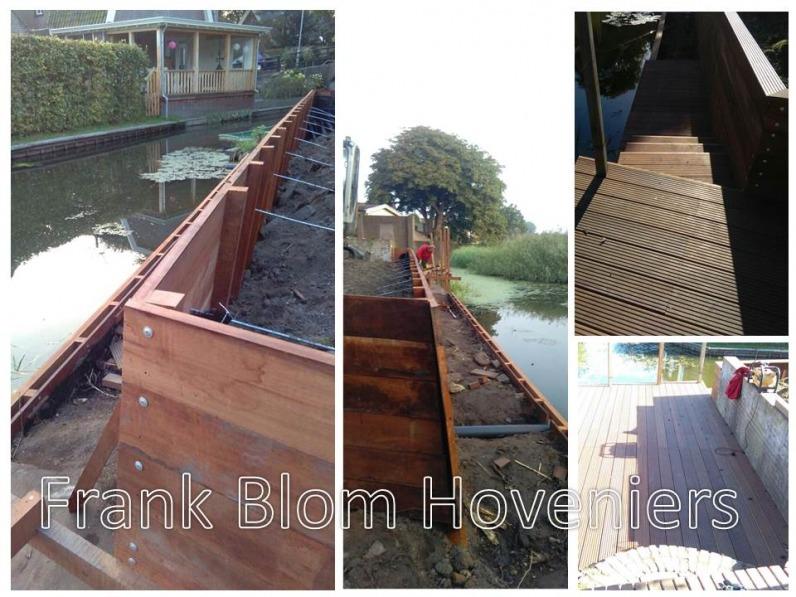 COMPLEET: veranda - straatwerk - beschoeiing - beplanting ...